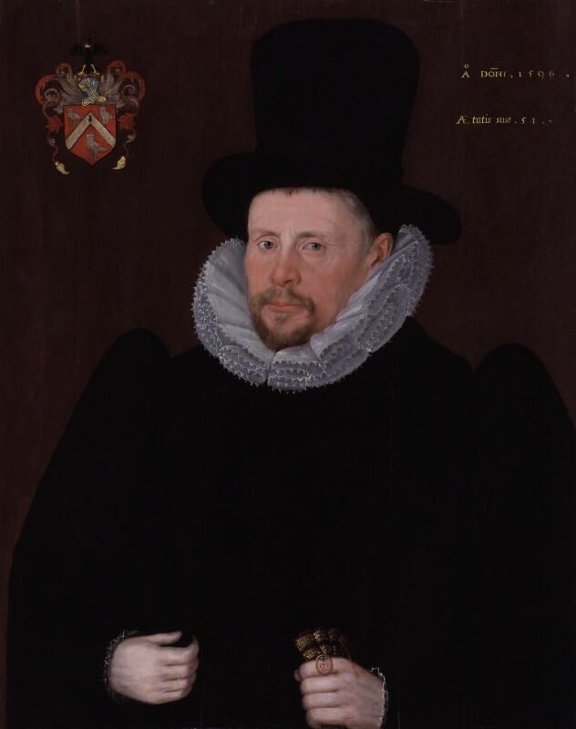 Sir Thomas Fleming, by Unknown artist, 1596 - NPG 1799 - © National Portrait Gallery, London