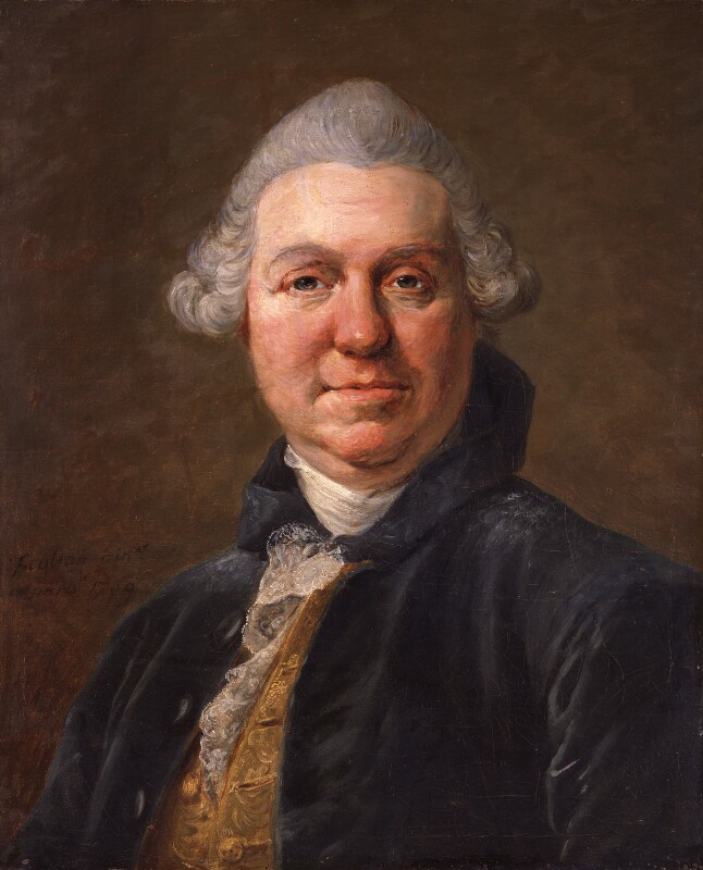 Samuel Foote, by Jean François Colson, 1769 - NPG 4904 - © National Portrait Gallery, London