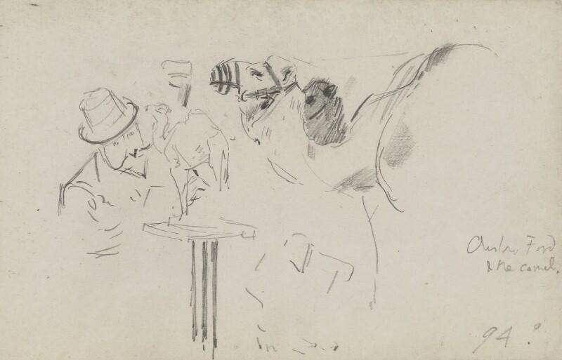 (Edward) Onslow Ford, by Sydney Prior Hall, circa 1890 -NPG 2384 - © National Portrait Gallery, London