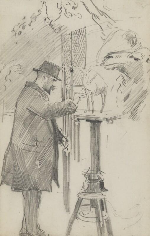 (Edward) Onslow Ford, by Sydney Prior Hall, circa 1890 -NPG 2385 - © National Portrait Gallery, London