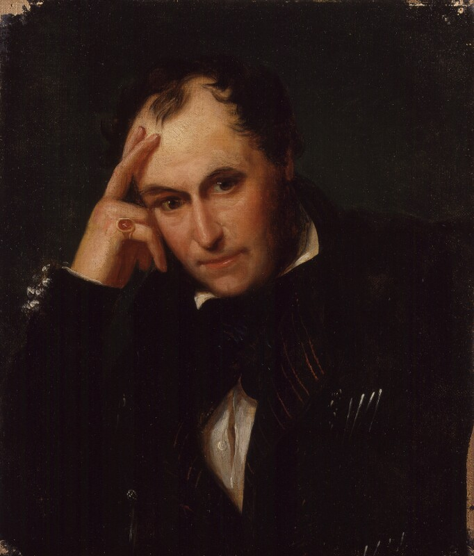 Richard Ford, after Antonio Chatelain, late 19th century, based on a work of 1840 - NPG 1888 - © National Portrait Gallery, London; photograph by Rachel Moss