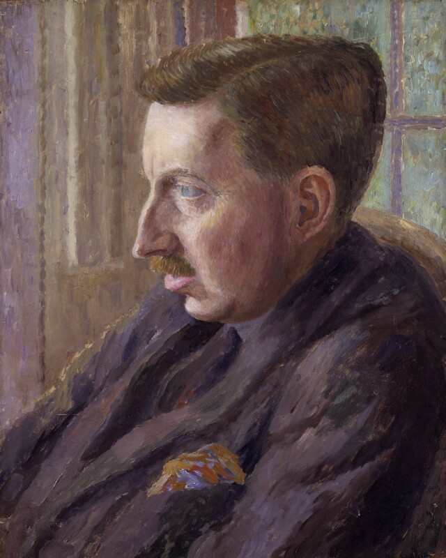 E.M. Forster, by Dora Carrington, 1920 - NPG 4698 - © National Portrait Gallery, London