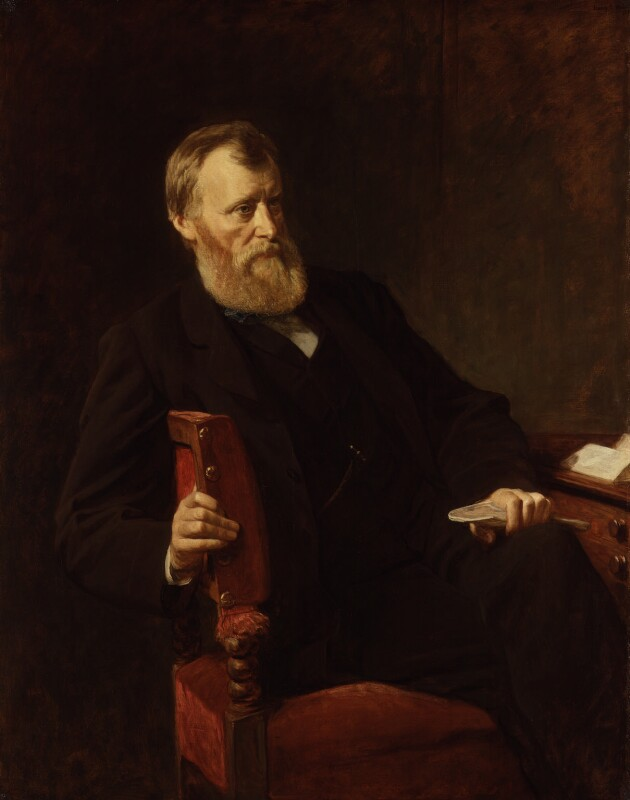 William Edward Forster, by Henry Tanworth Wells, 1875 - NPG 1917 - © National Portrait Gallery, London