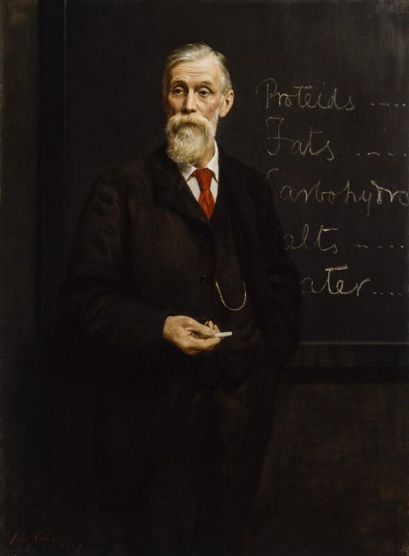 Sir Michael Foster, by John Collier, 1907 - NPG 1869 - © National Portrait Gallery, London