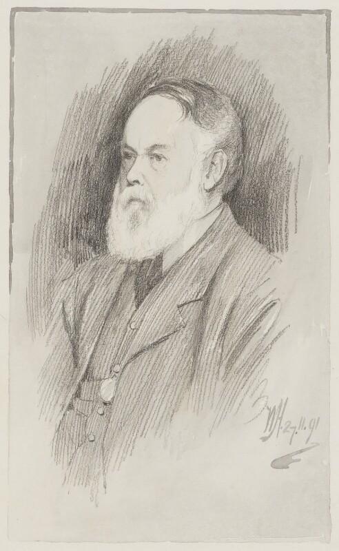 (Myles) Birket Foster, by Walker Hodgson, 1891 -NPG 4041(1) - © National Portrait Gallery, London