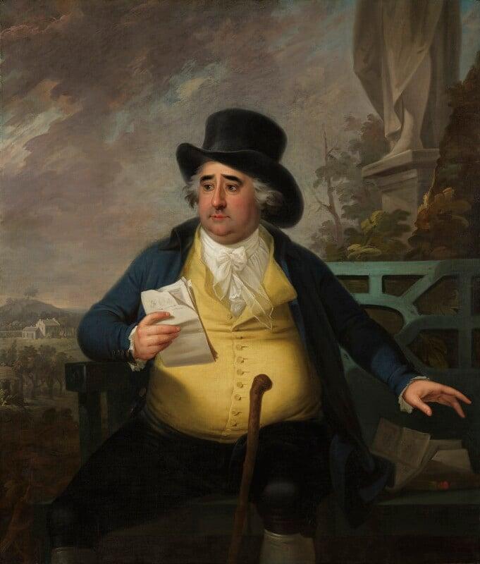 Charles James Fox, by Karl Anton Hickel, 1794 - NPG 743 - © National Portrait Gallery, London