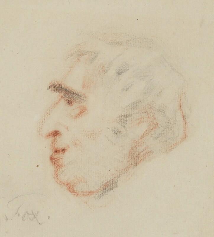 Charles James Fox, by Unknown artist, circa 1795-1800 -NPG 1310b - © National Portrait Gallery, London