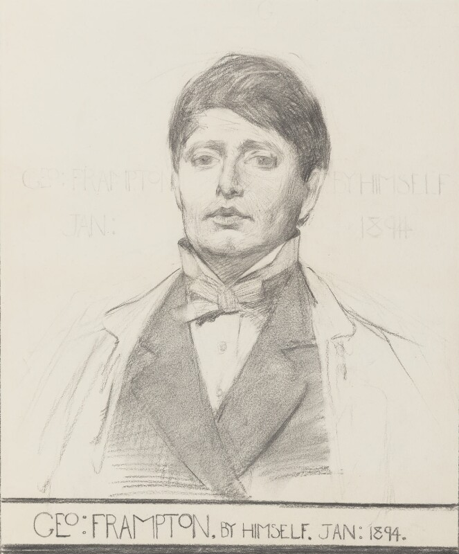 Sir George James Frampton, by Sir George James Frampton, 1894 - NPG 3043 - © National Portrait Gallery, London