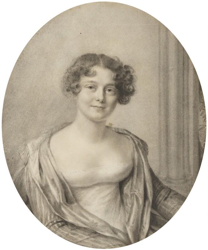Jane, Lady Franklin, by Amélie Romilly, 1816 - NPG 904 - © National Portrait Gallery, London