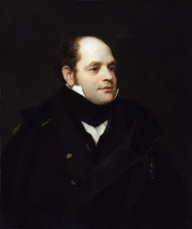 Sir John Franklin, replica by Thomas Phillips, 1828 - NPG 903 - © National Portrait Gallery, London