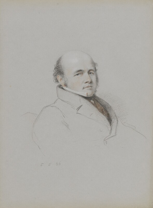 Sir John Franklin, by William Brockedon, 1836 -NPG 2515(81) - © National Portrait Gallery, London