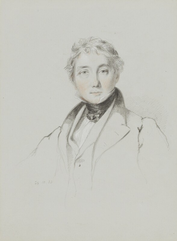 James Fraser, by William Brockedon, 1833 -NPG 2515(48) - © National Portrait Gallery, London