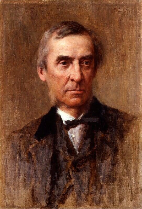 James Anthony Froude, by Sir George Reid, 1881 - NPG 4990 - © National Portrait Gallery, London