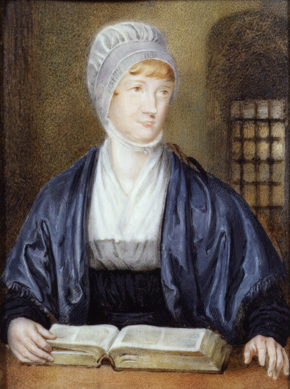 Elizabeth Fry, by Samuel Drummond, circa 1815 -NPG 118 - © National Portrait Gallery, London