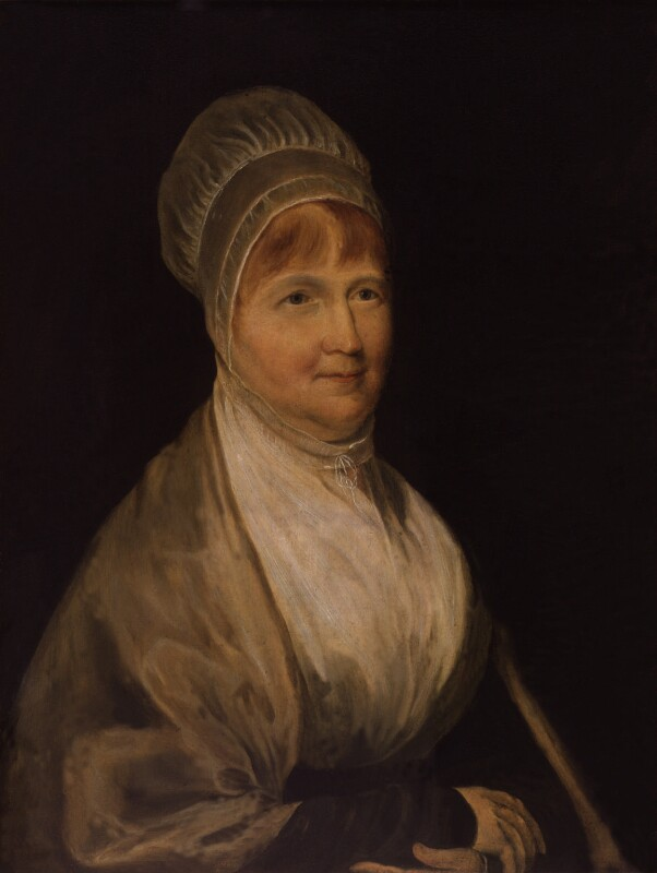 Elizabeth Fry, after Charles Robert Leslie, based on a work of circa 1823 - NPG 898 - © National Portrait Gallery, London