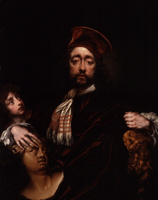 Isaac Fuller, by Isaac Fuller, circa 1670 - NPG 2104 - © National Portrait Gallery, London