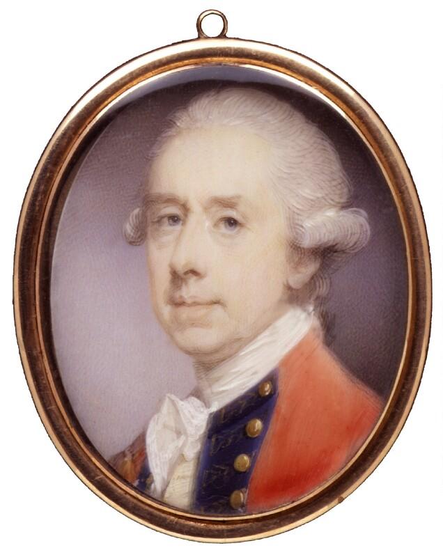 Thomas Gage, by Jeremiah Meyer, circa 1770-1780 - NPG 4070 - © National Portrait Gallery, London
