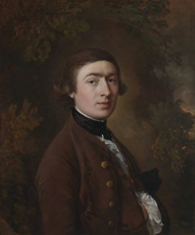 Thomas Gainsborough, by Thomas Gainsborough, circa 1758-1759 - NPG 4446 - © National Portrait Gallery, London