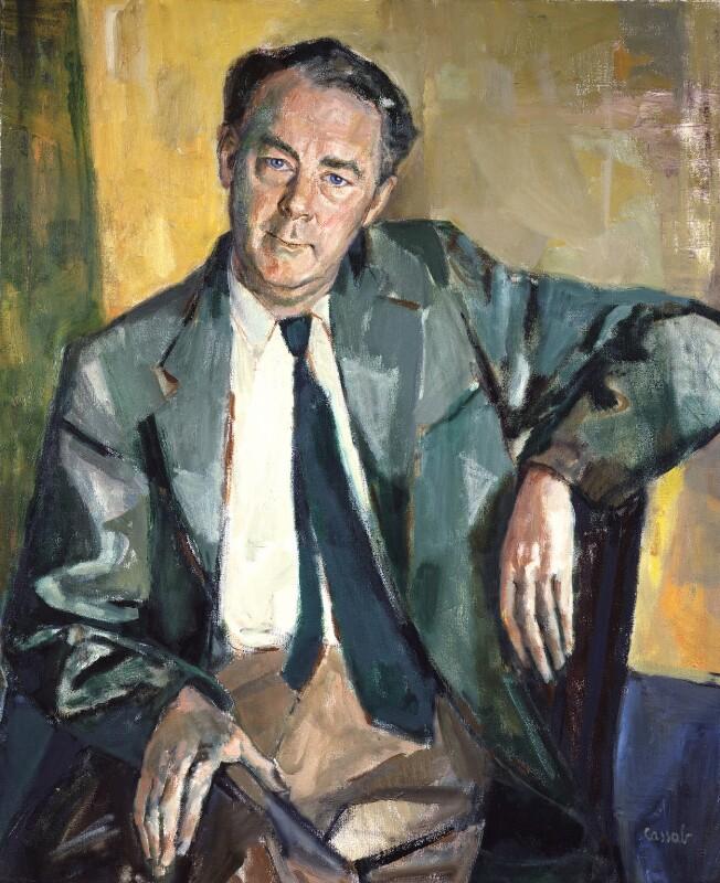 Hugh Todd Naylor Gaitskell, by Judy Cassab (Mrs Kampfner), 1957 - NPG 4923 - © estate of Hugh Gaitskell