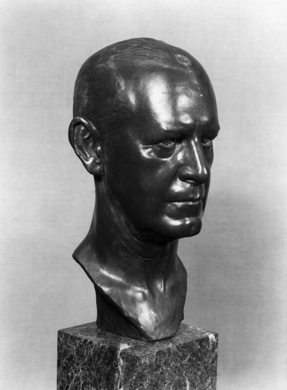 John Galsworthy, by David Evans, 1961, based on a work of 1929 - NPG 4208 - Photograph © National Portrait Gallery, London