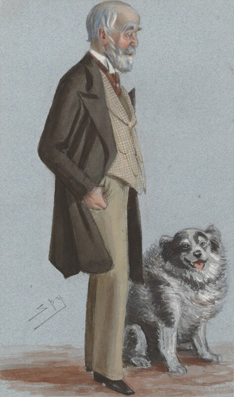 Alan Legge Gardner, 3rd Baron Gardner, by Sir Leslie Ward, published in Vanity Fair 21 January 1883 - NPG 3287 - © National Portrait Gallery, London