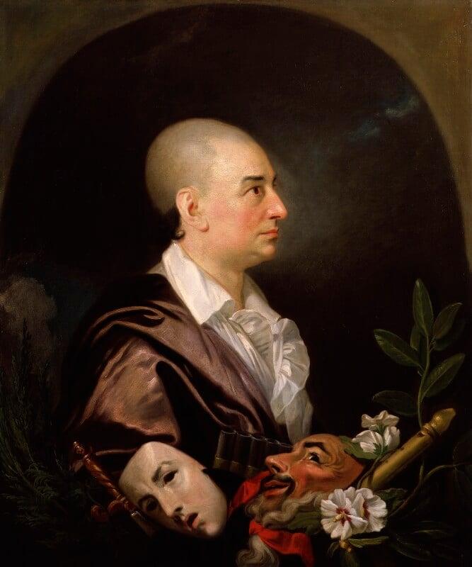 David Garrick, studio of Johan Joseph Zoffany, 1763 - NPG 1167 - © National Portrait Gallery, London