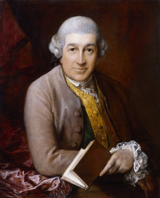 David Garrick, by Thomas Gainsborough, 1770 -NPG 5054 - © National Portrait Gallery, London