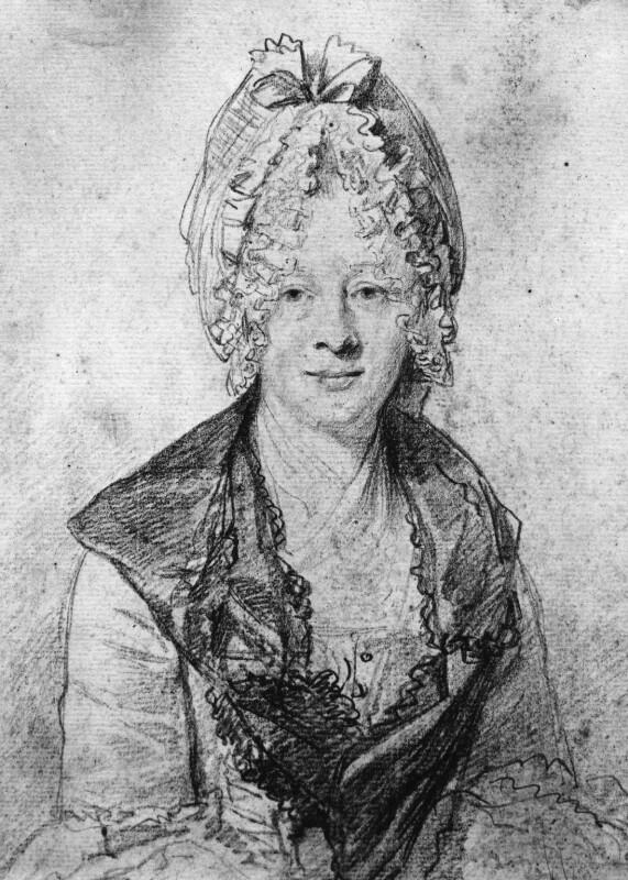 Eva Maria Garrick (née Veigel), by Nathaniel Dance (later Sir Nathaniel Holland, Bt), 1771 - NPG 3640 - © National Portrait Gallery, London