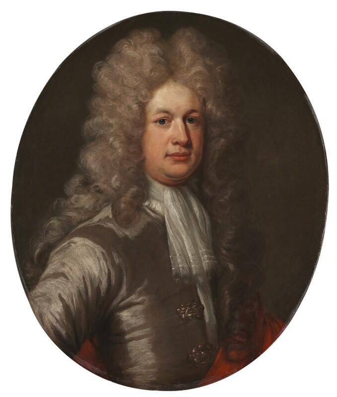 Sir Samuel Garth, by Unknown artist, circa 1698 - NPG 1076 - © National Portrait Gallery, London