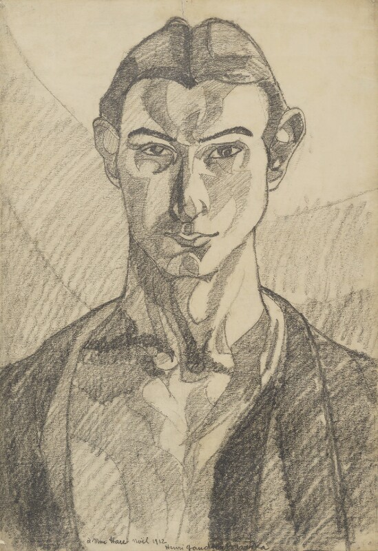Henri Gaudier-Brzeska, by Henri Gaudier-Brzeska, 1912 - NPG 4814 - © National Portrait Gallery, London