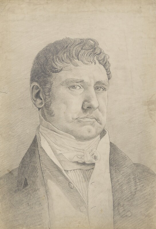 Sir William Gell, by Cornelius Varley, 1816 - NPG 5086 - © National Portrait Gallery, London
