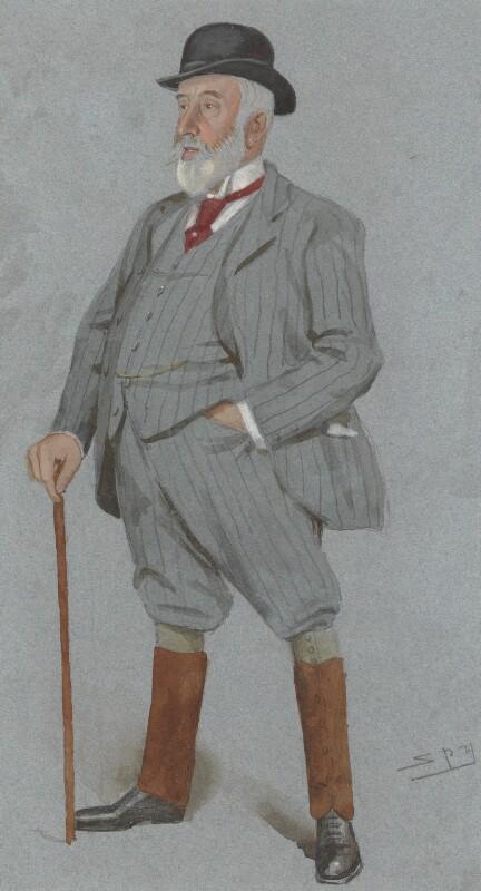 William Montagu Gent-Tharp, by Sir Leslie Ward, published in Vanity Fair 21 June 1894 - NPG 2990 - © National Portrait Gallery, London