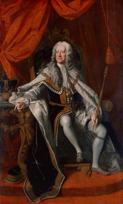 King George II, by Thomas Hudson, 1744 - NPG 670 - © National Portrait Gallery, London