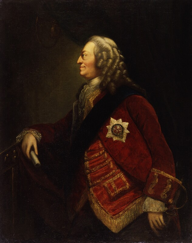 King George II, by Thomas Worlidge, circa 1753 -NPG 256 - © National Portrait Gallery, London
