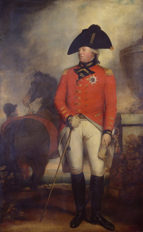 King George III, studio of Sir William Beechey, based on a work of 1799-1800 - NPG 2502 - © National Portrait Gallery, London