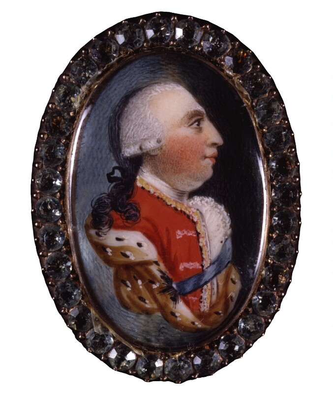 King George III, by Unknown artist, before 1809 - NPG 6288 - © National Portrait Gallery, London