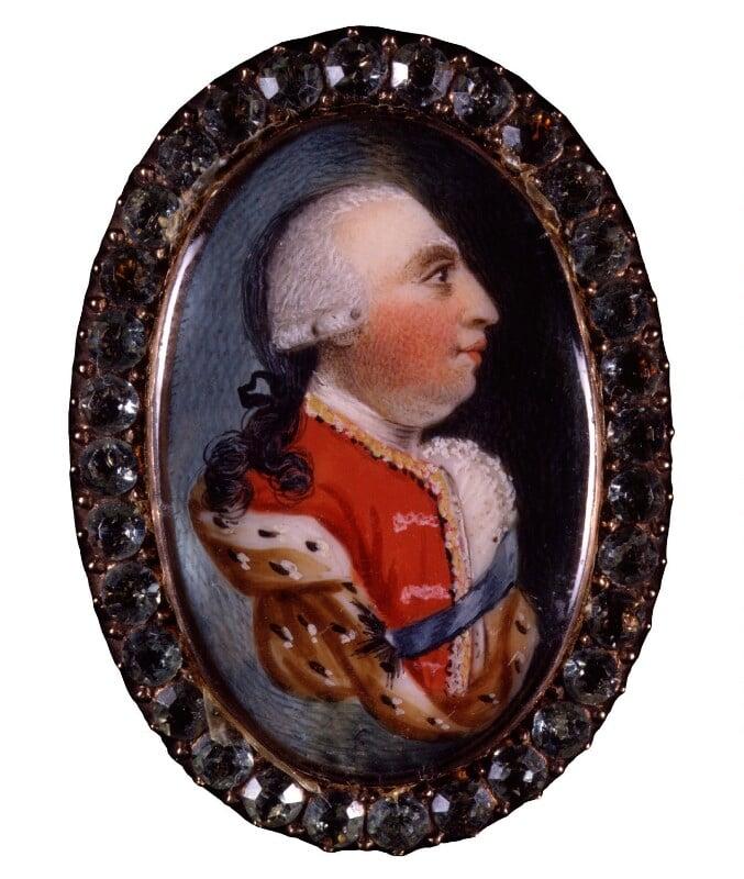 King George III, by Unknown artist, before 1809 - NPG 6288 - © National Portrait Gallery, London