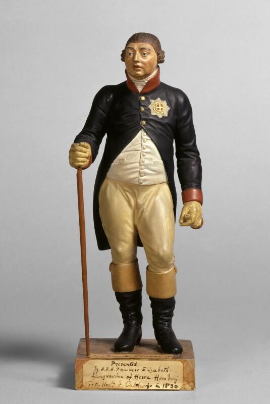 King George III, by Francis Philibert Hardenberg, 1820 -NPG 4383 - © National Portrait Gallery, London