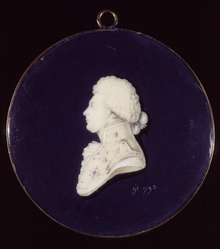 King George IV, by H. de Janvry, 1793 - NPG 1761 - © National Portrait Gallery, London