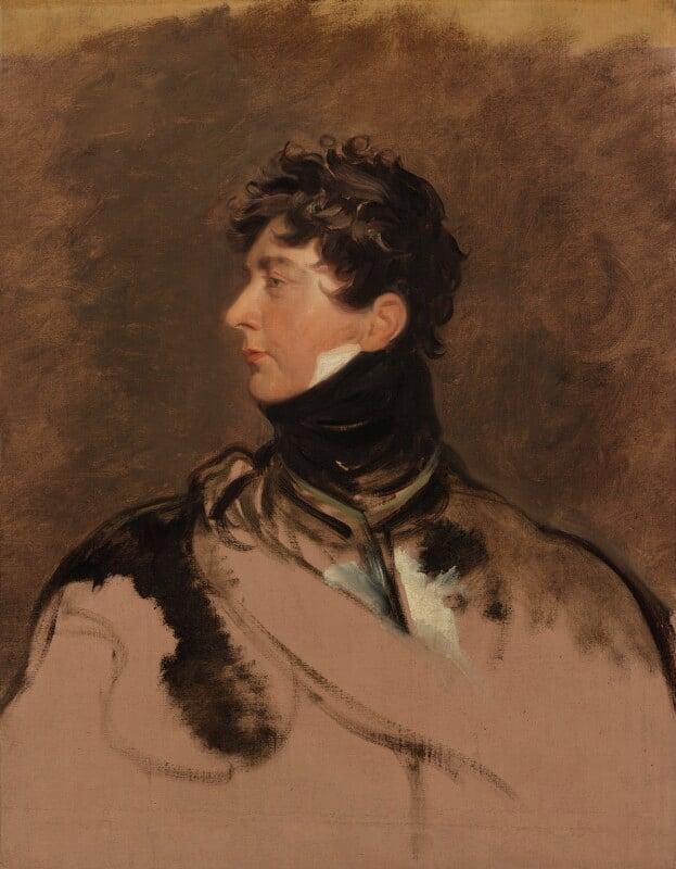 King George IV, by Sir Thomas Lawrence, circa 1814 -NPG 123 - © National Portrait Gallery, London