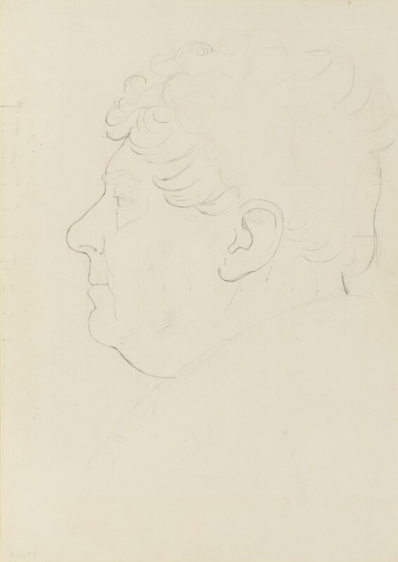 King George IV, by Sir Francis Leggatt Chantrey, circa 1821 -NPG 316a(54) - © National Portrait Gallery, London
