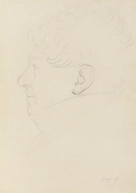 King George IV, by Sir Francis Leggatt Chantrey, circa 1821 -NPG 316a(55) - © National Portrait Gallery, London