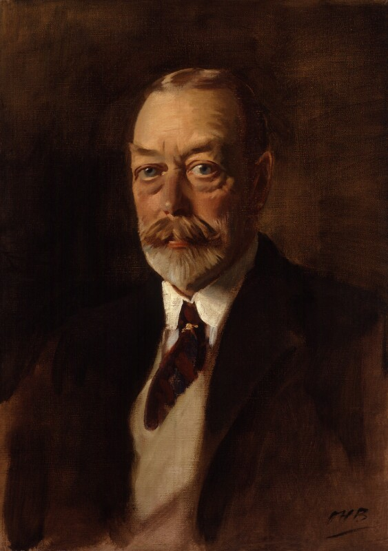 King George V, by Sir Oswald Birley, circa 1933 - NPG 4013 - © National Portrait Gallery, London