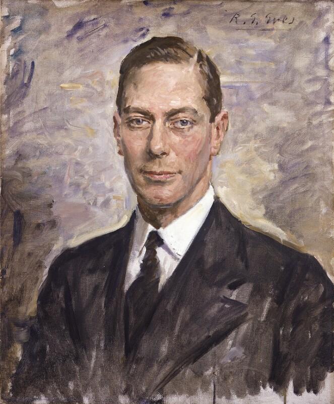 King George VI, by Reginald Grenville Eves, 1924 - NPG 4144 - © National Portrait Gallery, London