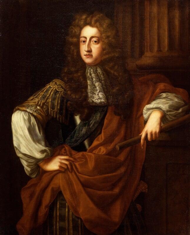 Prince George of Denmark, Duke of Cumberland, after John Riley, based on a work of 1687 - NPG 326 - © National Portrait Gallery, London