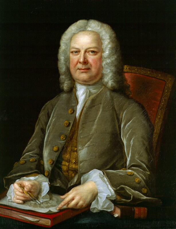 James Gibbs, by John Michael Williams, circa 1752 - NPG 504 - © National Portrait Gallery, London
