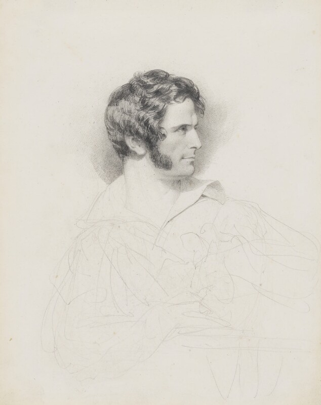 John Gibson, by John Partridge, 1825 - NPG 3944(32) - © National Portrait Gallery, London
