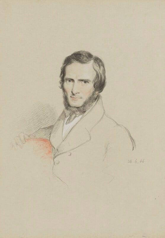 John Gibson, by William Brockedon, 1844 - NPG 2515(96) - © National Portrait Gallery, London