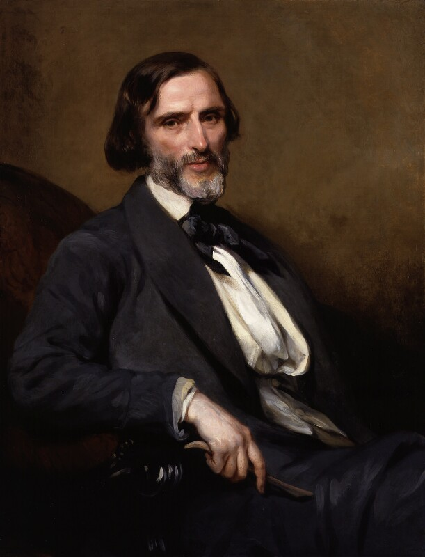 John Gibson, by Margaret Sarah Carpenter, 1857 - NPG 232 - © National Portrait Gallery, London