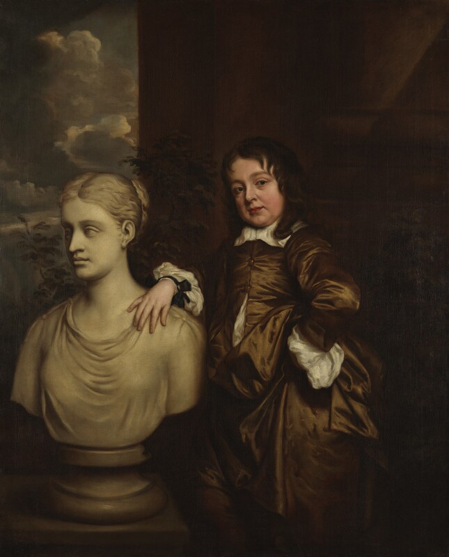 Richard Gibson, after Sir Peter Lely, circa 1658, based on a work of circa 1658 - NPG 1975 - © National Portrait Gallery, London